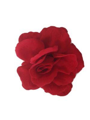 Flor Flamenca Madrid Aveludada com passador